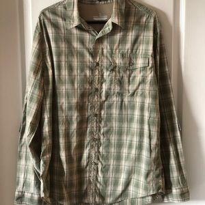 Men's Royal Robbins Long-Sleeved Button Down, Lg